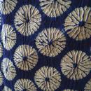 【浴衣】有松蜘蛛絞り 藍×苔色
