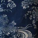 【浴衣】伝統江戸引き染めの綿路浴衣