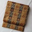 【ふくろ帯】洛風林製更紗縞ふくろ帯