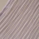 【夏・麻】淡紫色 細縞小千谷縮