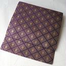 【なごや帯】川島織物謹製花菱文 開き仕立てなごや帯