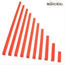【MONTE Kids】MK-030  赤い棒  大 教材用