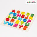 【MONTE Kids】MK-012  カラフル アルファベットBIGパズル