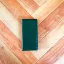 PAJOUR 大人ネイビー色 しっとり本革シンプルレザー手帳型ケース (再販 )  のコピー