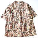 GOOFY CREATION : Pacific Modern Shirts Light - Mint Green/Pink