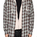 FAITH CONNEXION  Plaid Tweed Oversized Shirt シャツ 定価$880