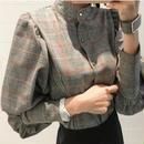 glen check shirt