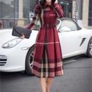 Classic check dress