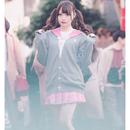 【メンヘラチャン ×PARK】うさたん刺繍カーディガン