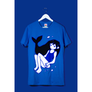 【OMOCAT】SWIMMER T-Shirt (DARK BLUE)