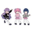 【メンヘラチャン ×PARK】ステッカー3枚セット