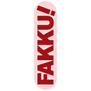 【FAKKU】FAKKU Red Skateboard