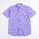 【宇宙サマー】SPACE BUNNY HAWAIIAN SHIRT