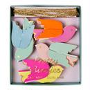 【MeriMeri】ミニガーランド/小鳥 [MM0101-45-1338]