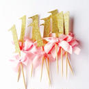 【PARTY MARKET】1st birthday gold picks (L) ファーストバースデーゴールドピック10本