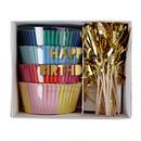 【MeriMeri】カップケーキキット/HAPPY BIRTHDAY(45-1687)