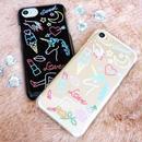 ♡¥1000SALE♡ネオンイラスト iPhoneケース