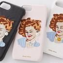 ピンナップガール刺繍  iPhoneケース