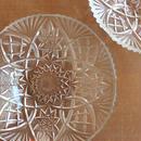 昭和レトロ・プレスガラスの小鉢