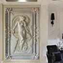 カスタム壁画壁紙 ヨーロッパスタイル 3D 立体アートレリーフ 天使像 入り口 廊下壁紙 7/17 503