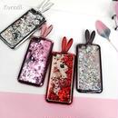 キラキラ ラメ うさぎ グリッター ラビット スマホケース iphone6 iphone7/8 7plus 8plus iphoneX アイフォンケース
