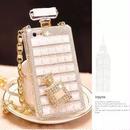 キラキラ チェーン perfume 香水 スマホケース iphone6 iphone7/8 7plus 8plus iphoneX アイフォンケース