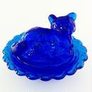 cat ♡ accessory case ブルー