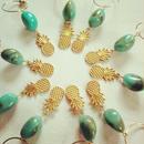 pineapple turquoise