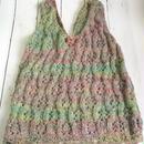 透かし編み ベスト