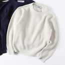 PROJECT SR'ES(プロジェクトエスアールエス) / LOOSE KNIT SWEATER(畔編みセーター) / No.KNT01137