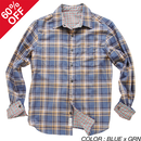 [OUTLET][SALE][60%OFF] PROJECT SR'ES(プロジェクトエスアールエス) / PROFIT CHECK SHIRT(リバーシブルチェックシャツ) / No.SHT00228