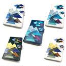 Android手帳型ケース/Lサイズ★10日でお届け【山】(レ・モンターニュ)【全5色】