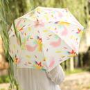 日傘(手元:竹)【鳥】ロワゾ