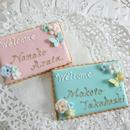 【カード型】花&蝶