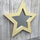 星型ミラー  スタンド  ハニーマスタード