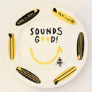 84259 GOLD & BLACKプレート SOUNDS
