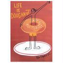 84375 PG ポストカード Doughnut