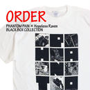 《PHANTOM PAIN × Hopeless Raven BLACK BOX T-SHIRTS》※受注生産※