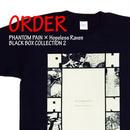 《PHANTOM PAIN × Hopeless Raven BLACK BOX T-SHIRTS 2》※受注生産※