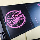 phat labメジャーボード ブラック×ピンク