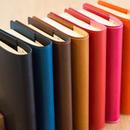 【文庫本サイズ】革のブックカバー しおり付き(全7色)