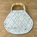 装う刺繍 身につける刺繍 材料セット 野の花柄のグラニーバッグ