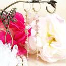 7月の誕生石 ピンクトルマリン「愛のピンク」イヤリング