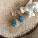 Turquoise Drop pierce 8