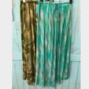 tiedye maxi skirt