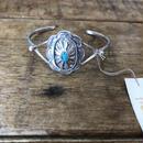 muuyaw turquoise concho bangle