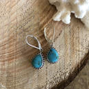 Turquoise Drop pierce 3