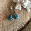 Turquoise Drop pierce 4