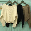ginger and  sprout CABLE Knit