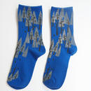 綿プリント靴下001号「木」(受注生産)【送料無料】